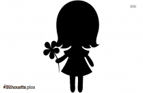 Little Girl Silhouette Picture