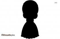 Animated Girl Silhouette Background