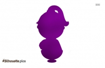 Cartoon Girl Silhouette Image And Vector Art