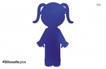 Girl With Goggles Silhouette