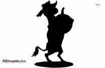 Cartoon Goat Silhouette Clipart