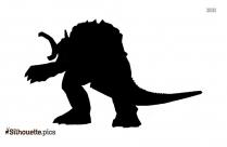 Godzilla Silhouette Image And Vector