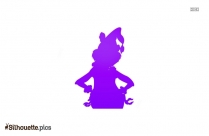 Thumbelina Characters Silhouette Free Vector Art