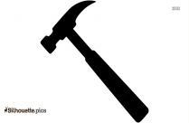 Hammer Tools Clipart Silhouette
