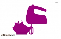 Cooking Utensils Silhouette Image And Vector