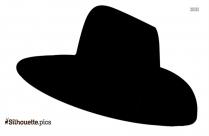 Cartoon Hat Silhouette Art