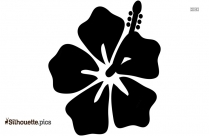 Jasmine Flower Silhouette Image And Vector