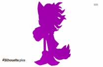 Cartoon Grandma Head Silhouette