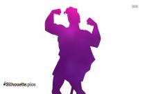 Cartoon Hercules Silhouette