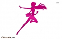 Cartoon Honey Lemon Character Silhouette