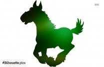Cartoon Horse Clip Art Silhouette