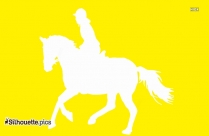 Walking Horse Logo Silhouette For Download