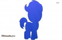 Cartoon Horse Silhouette Clipart
