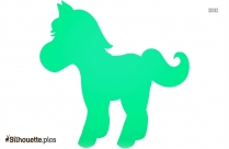 Cartoon Horse Silhouette Picture