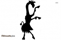 Dancing Fairy Silhouette, Clipart