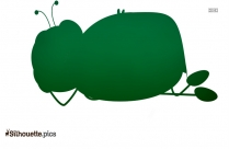 Cartoon Insects Silhouette Vector And Graphics