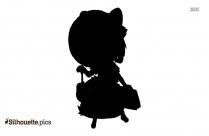 Cartoon Inugami Silhouette