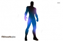 Cartoon Ironman Silhouette Png