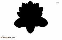 Animated Flower Silhouette Background