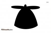 Bucket Hat Silhouette Free Vector Art