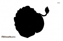 Like A Roaring Lion Silhouette Drawing