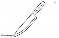 Dagger Vector Symbol Silhouette