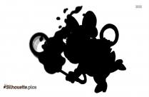 Pepe Le Pew Silhouette Icon