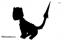 Cartoon Lemur Silhouette Clip Art