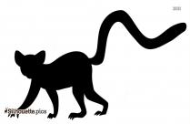 Cartoon Lamb Silhouette Image