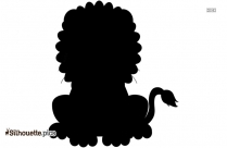 Teen Girl With Lion Silhouette