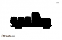 Cartoon Loading Truck Silhouette Image And Vector