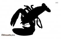 Lobster Cartoon Silhouette Art