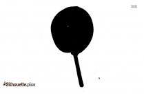 Cartoon Lollipop Silhouette Art