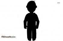 Cartoon Man Clipart Silhouette