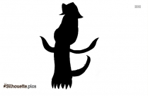 Cartoon Triceratops Clipart Silhouette
