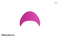 Cartoon Mario Hat Silhouette