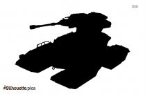 Panther Tank Silhouette Background