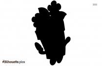 Cartoon Milk Plant Silhouette Drawing
