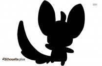 Mega Luxray Silhouette Image And Vector