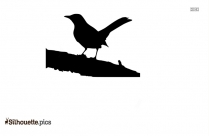 Singing Birds Silhouette Clip Art