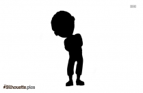 Cartoon Model Silhouette Picture