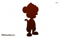 Cartoon Hippo Silhouette Vector And Graphics