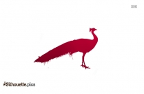 Cartoon Flamingo Clipart Silhouette