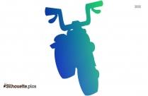 Cartoon Motorcycle Clipart Vecotor Image