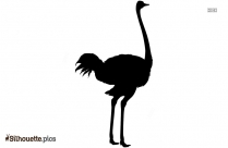 Fowl Drawing Silhouette Clipart