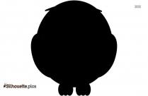 Cartoon Owl Baby Silhouette