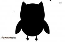 Cartoon Owl Clipart Image Silhouette
