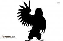 Sparrows Silhouette Image