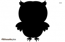 Cartoon Owl Silhouette Image And Clipart