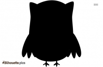 Cartoon Owl Silhouette Picture Vector